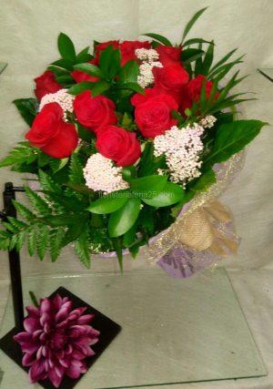 Ramo Docena de Rosas en redondo 2